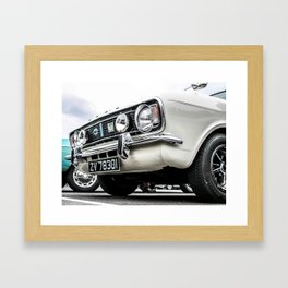 Vintage Cortina Framed Art Print