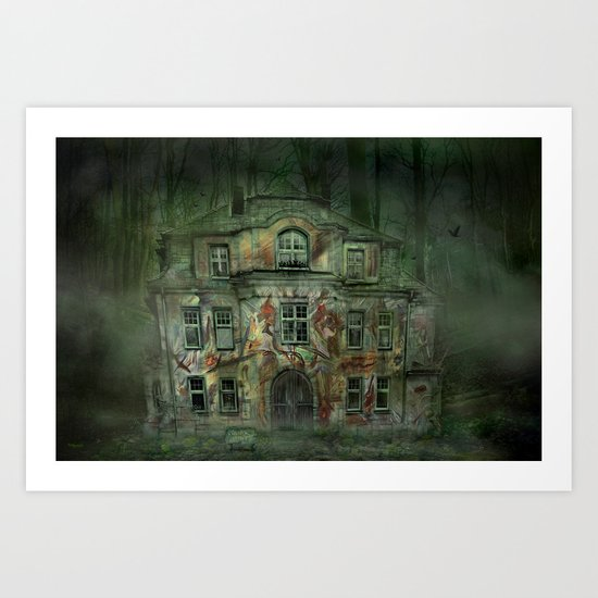 Welcome Home ! Art Print