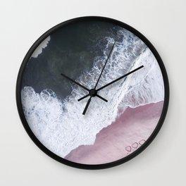 I love the sea - heart and soul Wall Clock