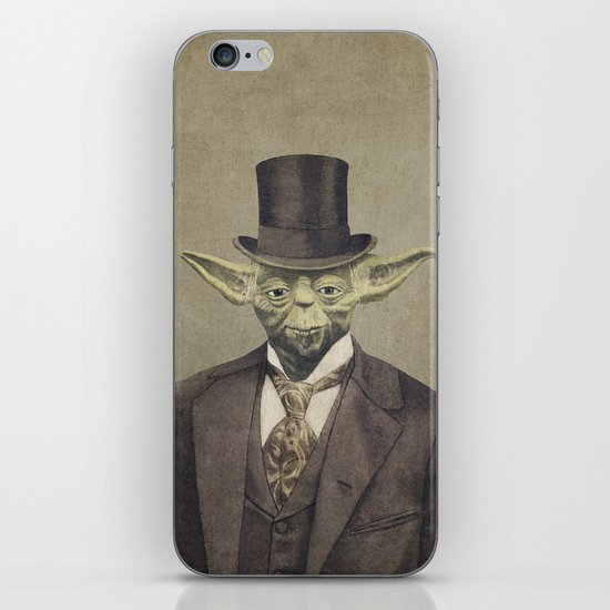 Sir Yodington  - square format iPhone & iPod Skin