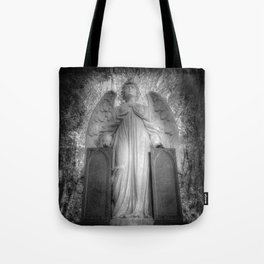 Angel Watching Over You Tote Bag