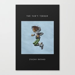 Isaiah Rashad - The Suns Tirade Canvas Print