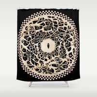 circle Shower Curtains featuring Circle by Irina Vinnik