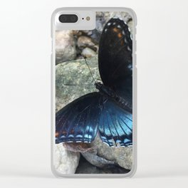 Something blue Clear iPhone Case