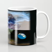 sagan Mugs featuring Multiverse by Deepti Munshaw