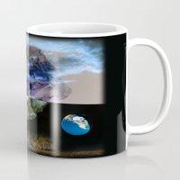 physics Mugs featuring Multiverse by Deepti Munshaw