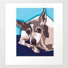 Jasmine Dog Art Print