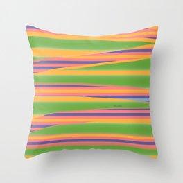 IRREGULAR LINEAR DESIGN Throw Pillow