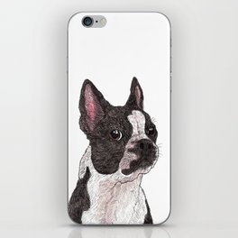 My Baby, Boston Terrier iPhone Skin