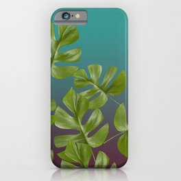 Monstera LEAFS iPhone Case