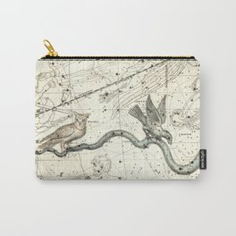 Corvus, Noctua, Hydra Constellations Plate 27, Alexander Jamieson Carry-All Pouch
