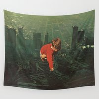 jesse pinkman Wall Tapestries featuring houston by Jesse Treece