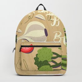 Fresh Is Best In The Kitchen Backpack