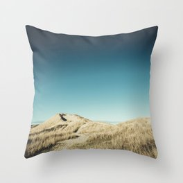 Dune Landscape in Denmark Throw Pillow