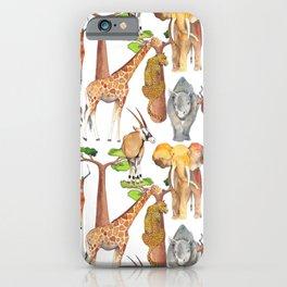 Wild Africa #4 iPhone Case