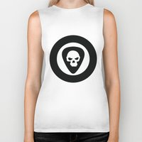 punk rock Biker Tanks featuring Punk, Rock & Ska by Howiesgraphics