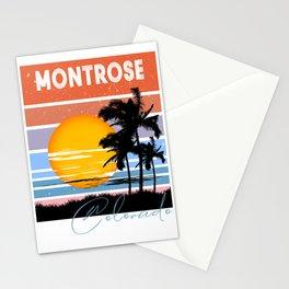 Montrose Colorado Retro Vintage Custom Stationery Cards