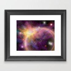 Nebula VI Framed Art Print