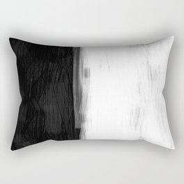 Two part abstract Rectangular Pillow