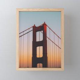 Golden Gate Framed Mini Art Print