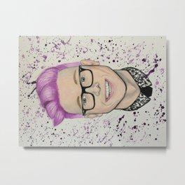 Purple Prince Metal Print