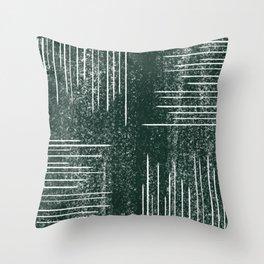 pine print Throw Pillow