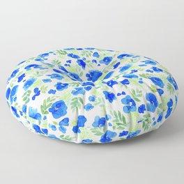 Floret (Blue) Floor Pillow