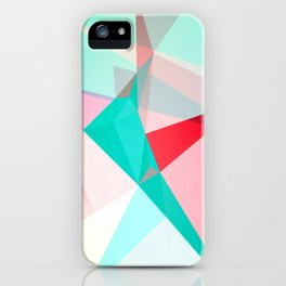 FRACTION - Abstract Graphic Iphone Case iPhone Case