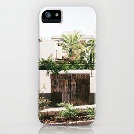 Botanical backyard Ibiza Spain | Lush greenery | Wanderlust Travel photography iPhone Case