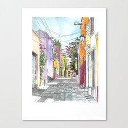 San Miguel Allende Street 2 Canvas Print