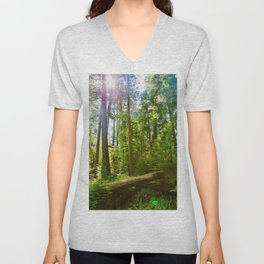 cathedral grove, 2017 Unisex V-Neck