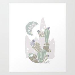 cacti rabika Art Print