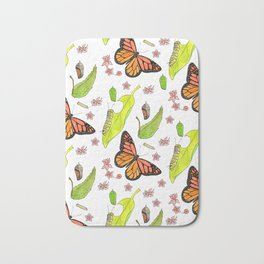 Monarch Migration Bath Mat