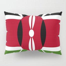 Kenya flag emblem Pillow Sham