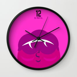 Michelin lady Wall Clock