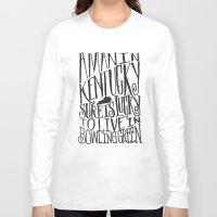 kentucky Long Sleeve T-shirts featuring KENTUCKY MAN by Matthew Taylor Wilson