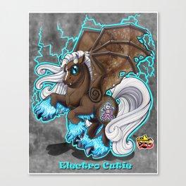Electro Cutie Canvas Print