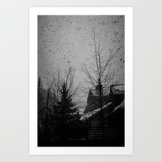 Winter Vail Colorado Art Print