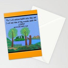 Jeremiah 30:17, KJV Stationery Cards