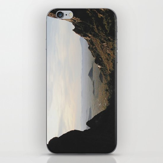 Palm Sunset Canyon iPhone & iPod Skin