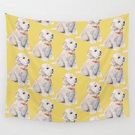 Cockapoo Pups Wall Tapestry