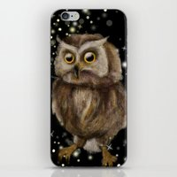 hedwig iPhone & iPod Skins featuring My Hedwig by Mathis Designs