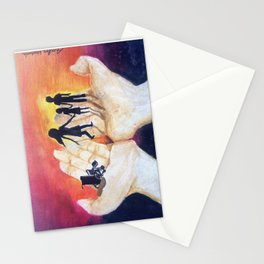 You Have Power To Reunite a Family in The Palm of Your Hands Stationery Cards