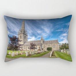 Marble Church Rectangular Pillow