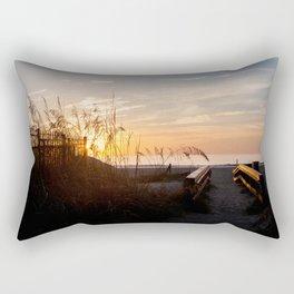Pathway to the Beach Rectangular Pillow