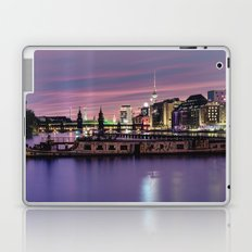 Berlin Purple Laptop & iPad Skin