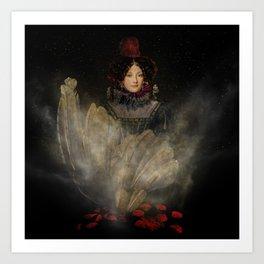 Emerging Beauty Art Print
