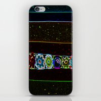 starry night iPhone & iPod Skins featuring Starry Starry Night by Lior Blum
