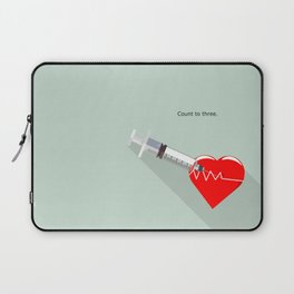 Shot to the heart - Pulp fiction Overdose Needle Scene needle for injection  Laptop Sleeve