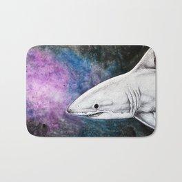 Galaxy Shark Bath Mat
